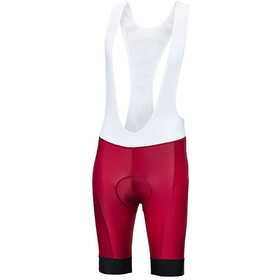 Protective Sequence Bib Shorts Men red/white